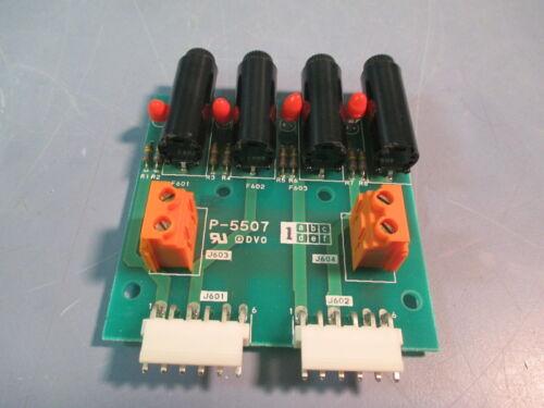 Ishida Printed Card Fuse Assembly PCB Circuit Board P-5507