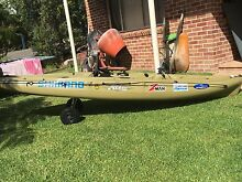 2011 Hobie Outback fishing kayak Vincentia Shoalhaven Area Preview