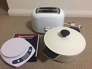 Bundle sale!! - IKEA 3L Casserole pot + Toaster + electric scale St Leonards Willoughby Area Preview