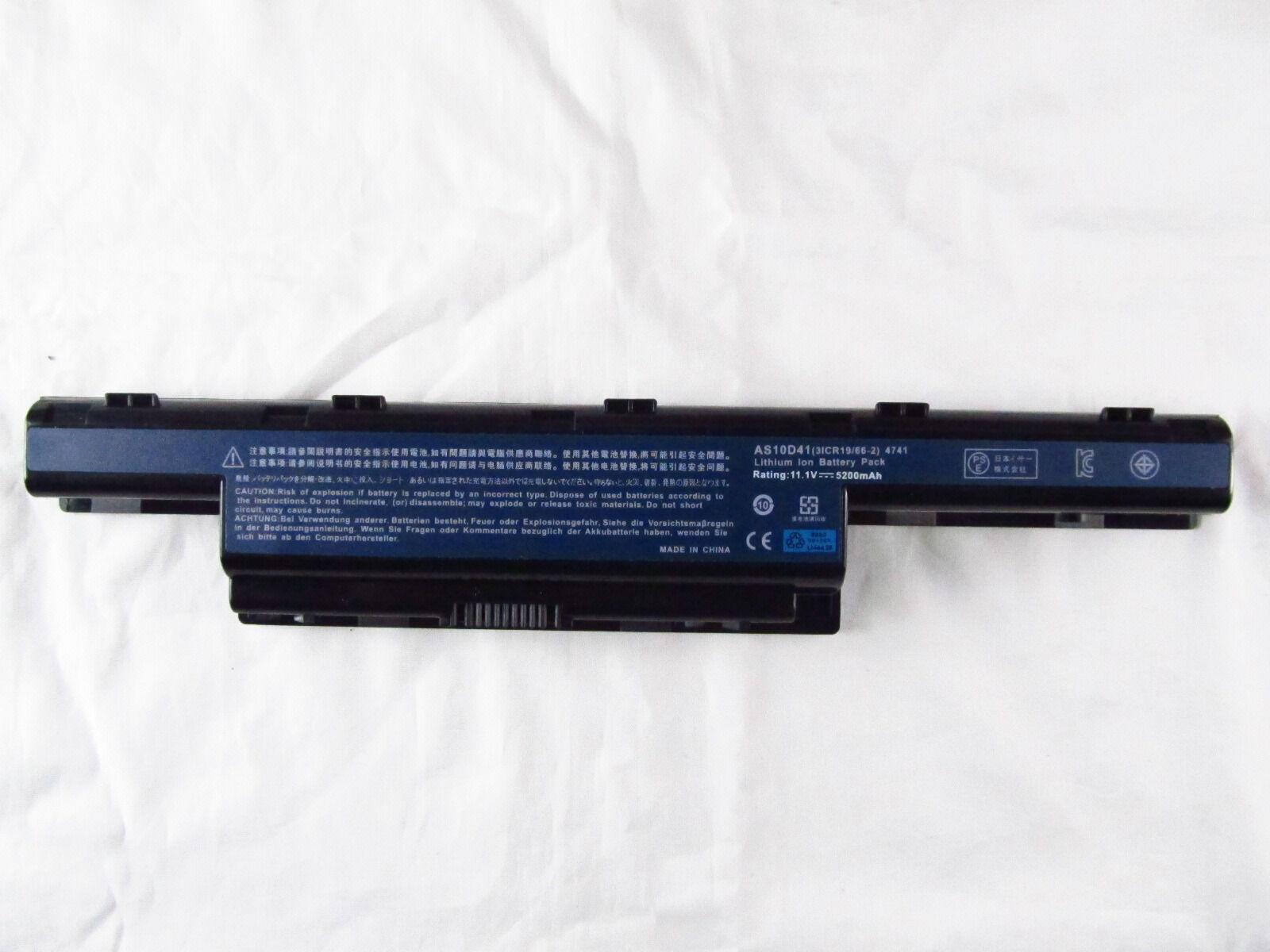 Battery For Acer Aspire 5252 5250 4339 5251 5253 5552g 55...