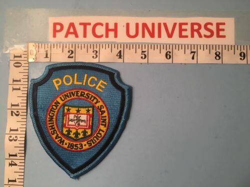 WASHINGTON UNIVERSITY SAINT LOUIS  POLICE  SHOULDER PATCH  O107
