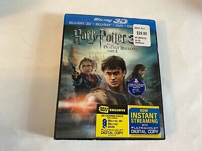 Harry Potter and the Deathly Hallows – Part 2 (3D/Bluray/DVD) *NEW* (Harry Potter Deathly Hallows Part 1 3d)