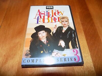ABSOLUTELY FABULOUS Complete Series 3 Three BBC TV Show DVD SEALED NEW