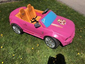 Barbie Mustang Power Wheels