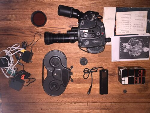 beaulieu r16 Superb Automatic Angenieux Zoom Lens Untested for parts