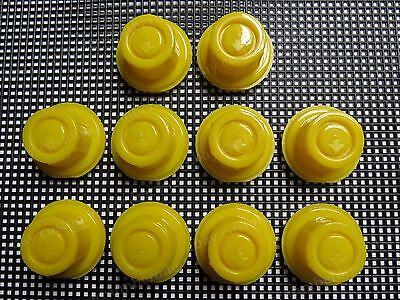 10 Blitz Gas Can Yellow Spout Caps Fits Part 900302 900092 900094 Original Style