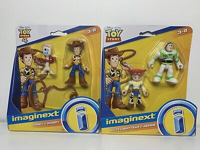 Toy Story 4 imaginext LOT Buzz Lightyear Jessie Woody Forky