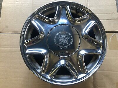 1997 Cadillac El Dorado 16X7 Seven Spoke Chrome Wheel