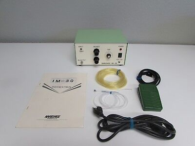 Narishige Im-30 Electronic Pneumatic Microinjector Foot Switch Tubing