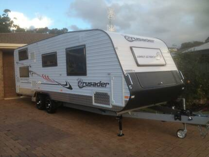 Family Van with Double Bunks Crusader 2013