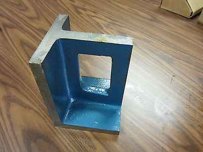 Universal Right Angle Plate 6x6x8 Smi-steel Castings Accurate Ground Urap-new