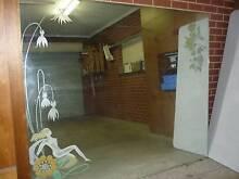 Large Vintage Etched Mirror Grange Charles Sturt Area Preview