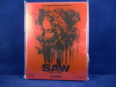 SAW Director's Cut - Steelbook - Bluray - German Exclusive -  Comme neuf