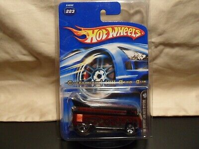HOT WHEELS CUSTOMIZED VW DRAG BUS FREE SHIPPING