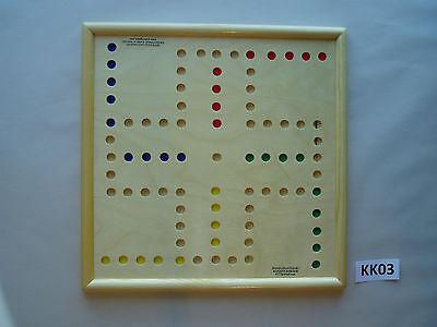 WAHOO WA HOO BOARD GAME 15 x 15 inch.  4 player.  KK03 for sale  Midland
