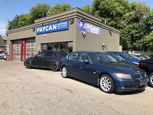 PAYCAN MOTORS TIRE INSTALLATION AND SALE!!!
