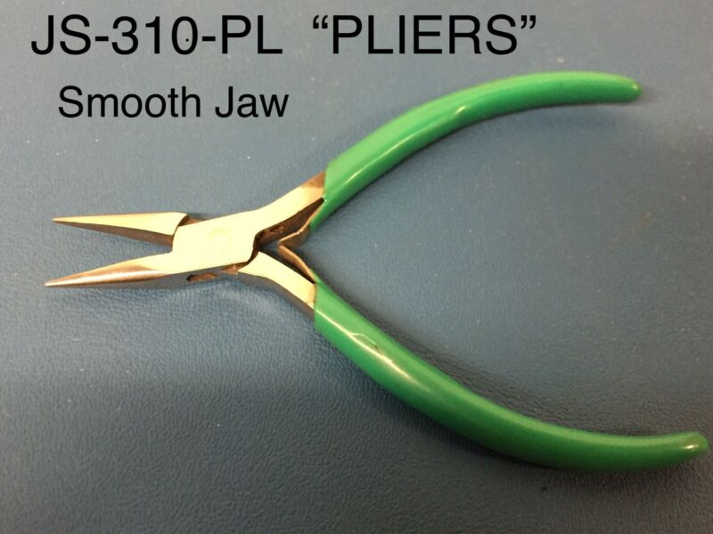 "JS-310-PL, Plier Smooth Jaw Needle-Nose, 5-1/2"" OAL, Vinyl Grips, NEW"