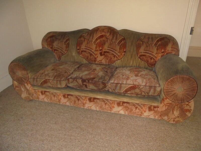 Art Deco club lounge - 4 piece - Pick up Bowral