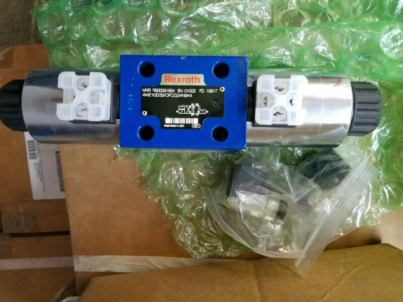 New Rexroth Hydraulic Directional Control Valve 4WE10D33/OFCG24N9K4 / R900591664