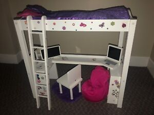 American girl doll/ Journey girl doll bunk bed set