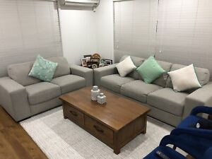 5 seat couch with cushions for $275