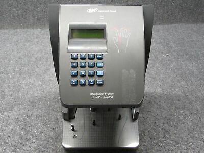 Recognition Systems Handpunch 2000 Hp-2000 Time Clock Tested Working