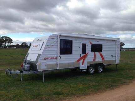 Bunk caravan with full ensuite - Windsor Genesis GC 727 Mudgee Mudgee Area Preview