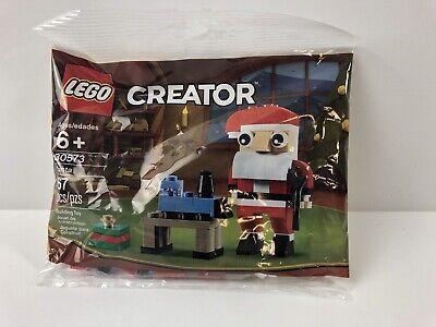 Lego Creator Santa Building Toy 67 Pieces 30573 Christmas Claus Workshop Train