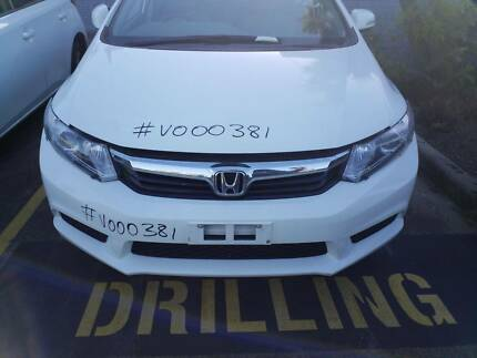 HONDA CIVIC VEHICLE WRECKING PARTS 2012 ## V000381 ## Rocklea Brisbane South West Preview