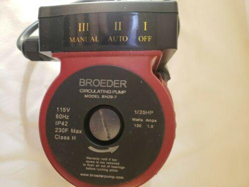 CLOSEOUT! Broeder-BN-29-7 Small Circulating Pump