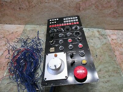 Tree J Type Vertical Mill Main Operator Fanuc Control Panel A860-0200-t020 Cnc