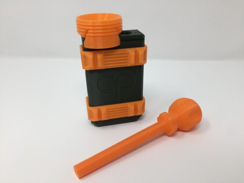 Cannagar Cigar Thai Stick Press Mold Kit 32 Gauge Green/Orange