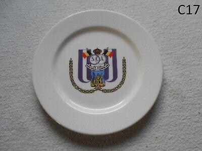 Magnifique Assiette  Villeroy et Boch Royal Sporting Club Anderlecht