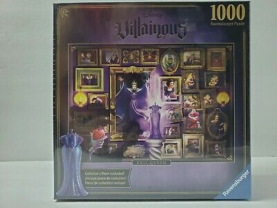 Disney Villainous Snow White Evil Queen 1000 Piece Jigsaw Puzzle