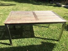 Outdoor dining table and 6x chairs available for $250 ONO Roseville Ku-ring-gai Area Preview