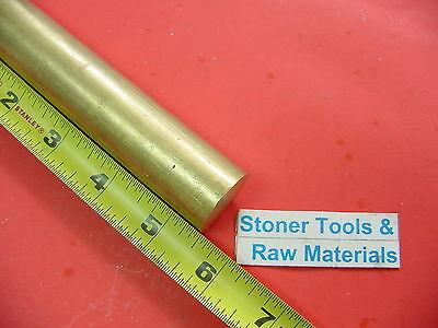 1 Brass C360 Round Rod 5.5 Long H02 Solid Brass Bar New Lathe Bar Stock 1.00