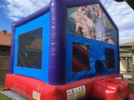 Sofia The First Combo Jumping Castle for hire