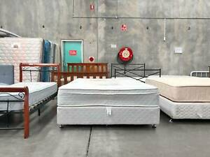 TODAY DELIVERY Queen Ensemble bed & COMFORTABLE mattress