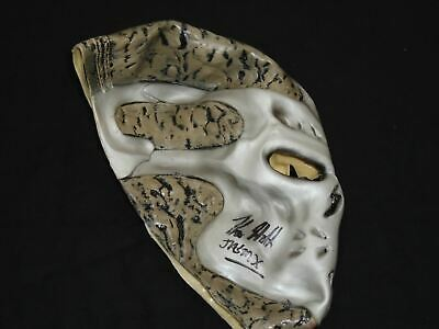 KANE HODDER Signed Jason X MASK Autograph Jason Voorhees