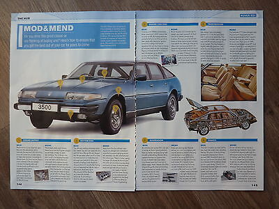 ROVER SD1  - Classic Buying Guide Article