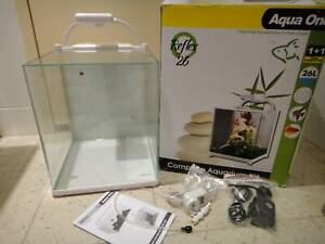 BRAND NEW – Aqua One Reflex 26L White Aquarium Fish Tank $120 CHEAP