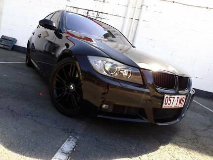 2008 BMW 3 Sedan 335i M sport, black on black, twin turbo