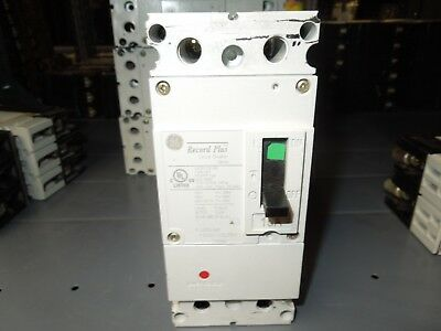 Ge Record Plus Fbn26te015rv 15a 2p 600v Circuit Breaker W Panel Connectors Used
