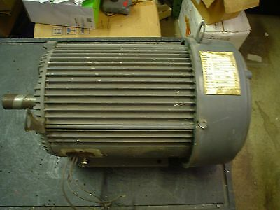 Us Electric 10hp 460vac 13amp 3ph 1750rpm 215t Motor - 60 Day Warranty