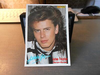 Andy Taylor (Duran Duran) ++ Pop / Rocky-Starkarte ++ Autogrammkarte ++ TOP ++ 1 Rocky-star