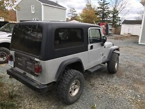 2004 Jeep TJ Unlimited Lifted w/ mint frame
