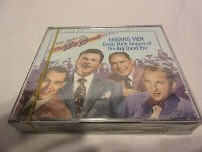 THE BEST OF BIG BANDS LEADING MEN GREAT MALE SINGERS BIG BAND ERA 2 CD SET