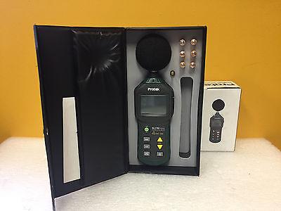 Protek Sl1700 30 To 130 Db 31.5 Hz To 8 Khz Digital Sound Level Meter New