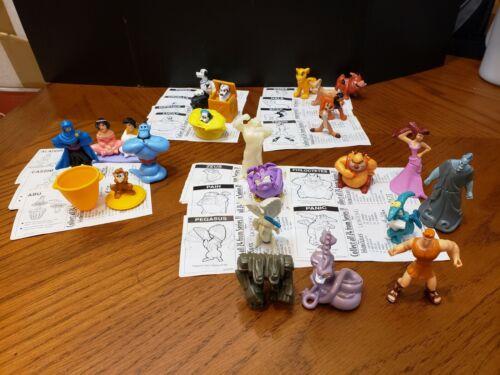 Disney Nestle Magic Figures ~ Lion King 🦁 Aladdin, 101 Dalmatians 🐶Hercules