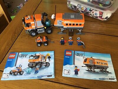 Lego City – Arctic Outpost Set 60035 complete with figures and instructions